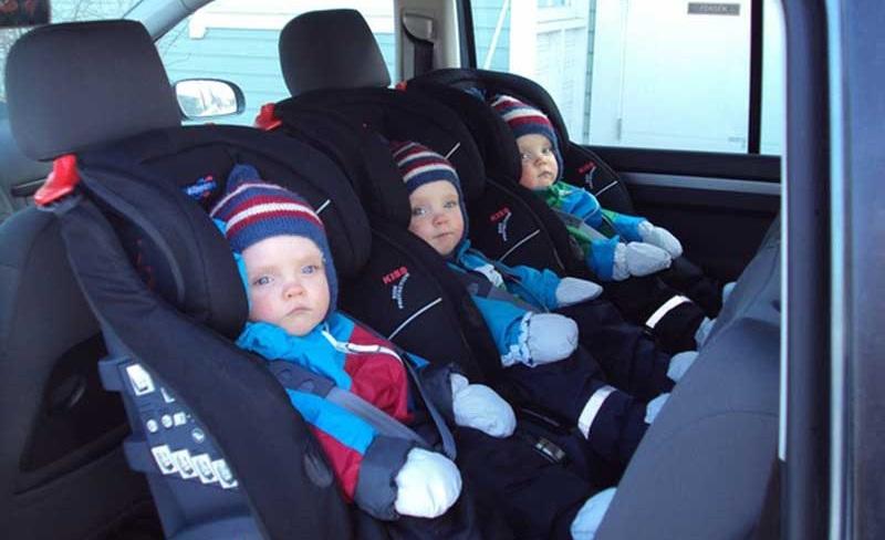 Silla de coche de los niños