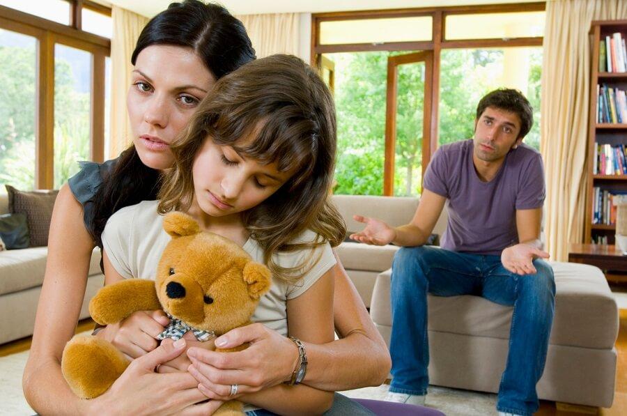 divorcio y niños